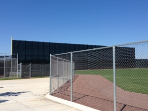 The Mesh Monster at JetBlue Park.