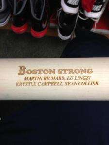 Johnny Gomes bat for today.