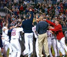 My All-Time Favorite moment in Sea Dogs History...Brandon Moss walks the 'Dogs into the Eastern League Championship.