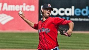 Chris Martin has 28.1 scoreless frames between Pawtucket and Portland.