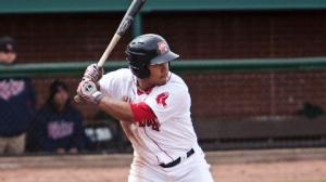 Heiker Meneses had two triples last night...He's leading the team in hitting at .357.