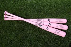 MLB will use pink bats for Mother's Day.