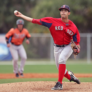 Noe Ramirez joins Portland's bullpen today from High-A Salem (photo courtesy of Kelly O'Connor)