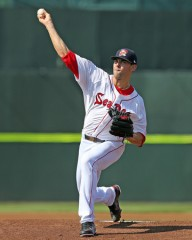 Anthony Ranaudo fanned a career-high 13 batters in his last start at Hadlock Field.
