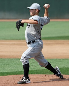 Charlie Haeger gets the start tonight for Portland.. (photo courtesy of Sitting Still Photography and Kelly O'Connor)