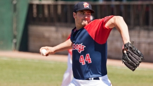 Brandon Workman worked six hitless innings yesterday for Boston. (photo by DMV sports)