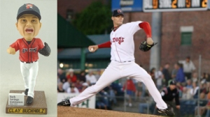 It's a Clay Buchholz Bobblehead night at Hadlock Field.