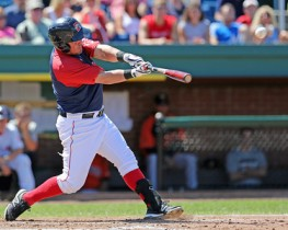 J.C. Linares has helped the 'Dogs during this recent swing...Linares is hitting .359 this month. (Photo courtesy of sitting still photography).