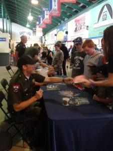 The Game Wardens from the hit TV Show North Woods Law were at Hadlock Field last night.