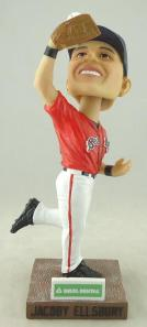 Jacoby Ellsbury Bobblehead Giveaway at Hadlock Field on Monday night.