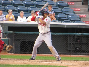 Deven Marrero made his Hadlock Field debut last night.