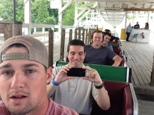 Riding the roller coaster in Altoona this past season.