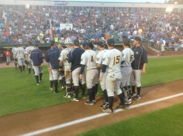 The Trenton Thunder clinched their ninth playoff spot in their 20-year history.