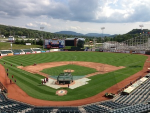 One of my favorite ballparks...Peoples Natural Gas Field in Altoona, PA.