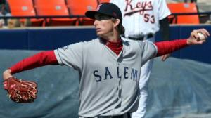 Lefty Henry Owens makes his Double-A debut on Saturday in Bowie, MD. (photo courtesy of Carl Kline MILB).