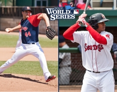 Brandon Workman and Xander Bogaerts opened 2013 in Portland.