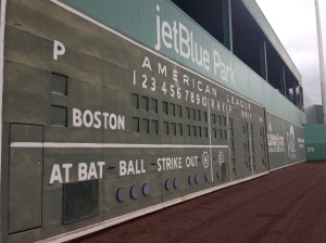 View of the Green Monster at JetBlue Park.