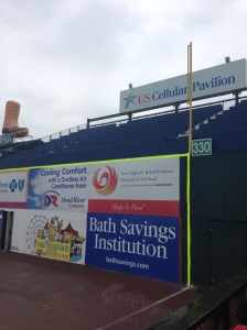 View of the U.S. Pavilion at Hadlock Field.