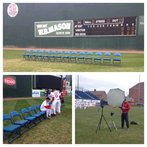 Team Photo Day at Hadlock Field.