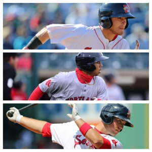 Coyle to Betts to Shaw...Portland turns the first triple play in franchise history.