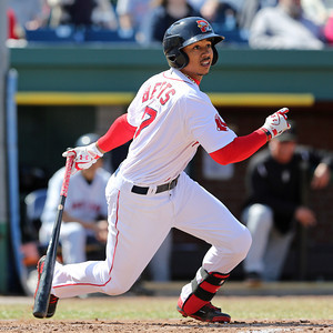 #MookieMadness...Betts is leading minor league baseball with a .430 average.