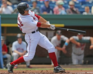 Shannon Wilkerson returns to Portland from Triple-A Pawtucket (photo by Kelly O'Connor).