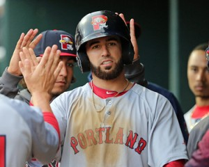 Congrats to Portland SS Deven Marrero on Eastern League Player of the Week.