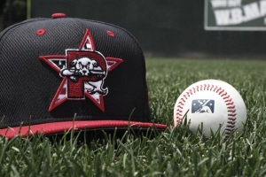 Hats the Sea Dogs will wear tonight.