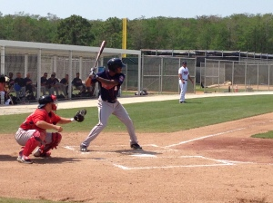 Byron Buxton homered twice in today's game against Portland.