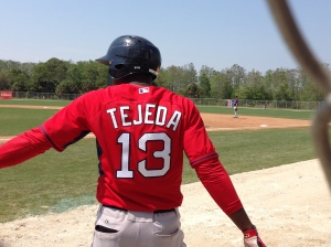 Did you know Oscar Tejeda was on Boston's 40-man roster in 2012?