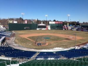 Hadlock Field on March 19