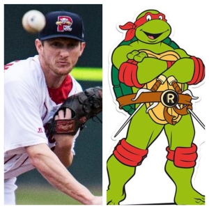 McCarthy starts tonight...Raphael of the TMNT makes a special appearance at Hadlock Fiel.d