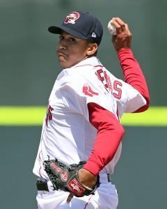 William Cuevas has won three straight starts.