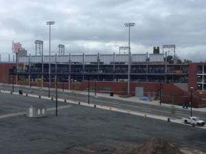View of Dunkin Donuts Park, home of the Hartford Yard Goats.